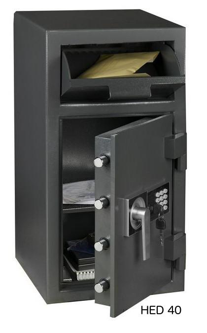 Coffre-fort de dépôt HED 40